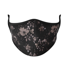Load image into Gallery viewer, Dark Floral Reusable Face Masks - Protect Styles