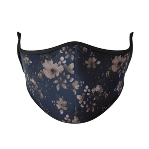 Dark Floral Reusable Face Masks - Protect Styles