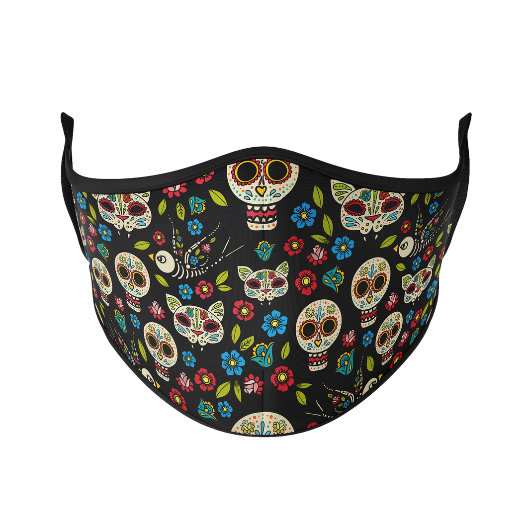 Day of the Dead Reusable Face Mask - Protect Styles