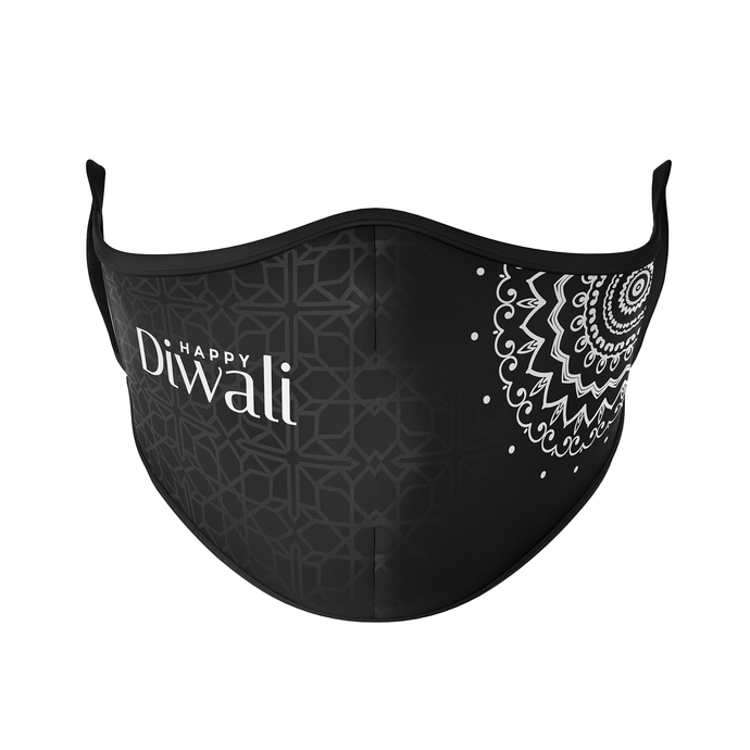 Happy Diwali Reusable Face Masks - Protect Styles
