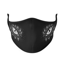 Load image into Gallery viewer, Dragon Eyes Reusable Face Mask - Protect Styles