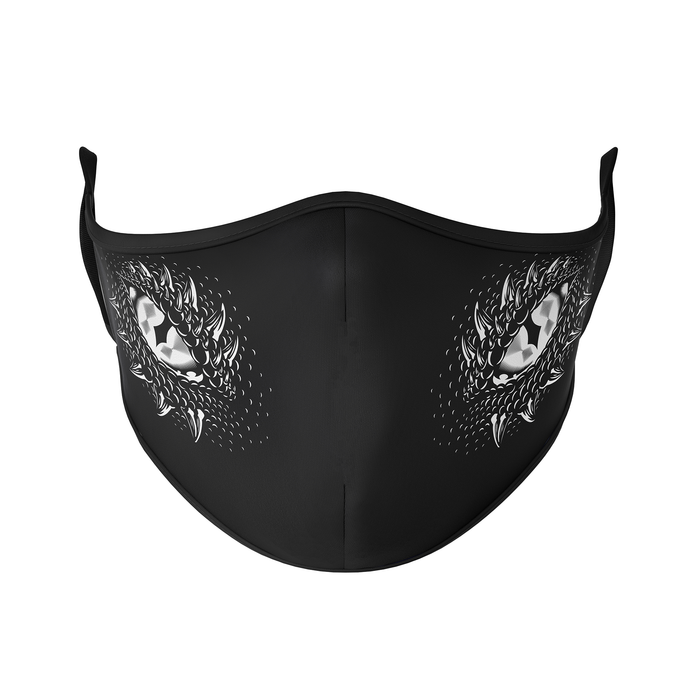 Dragon Eyes Reusable Face Mask - Protect Styles