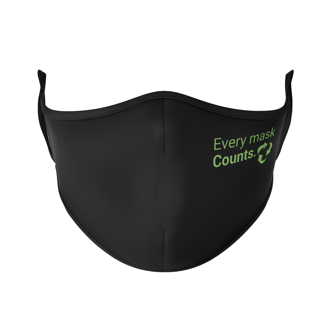 Every Mask Counts Reusable Face Masks - Protect Styles