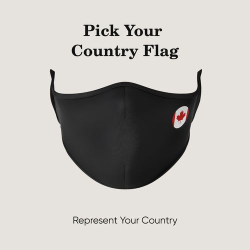 Pick Your Country Flag Mask - Protect Styles