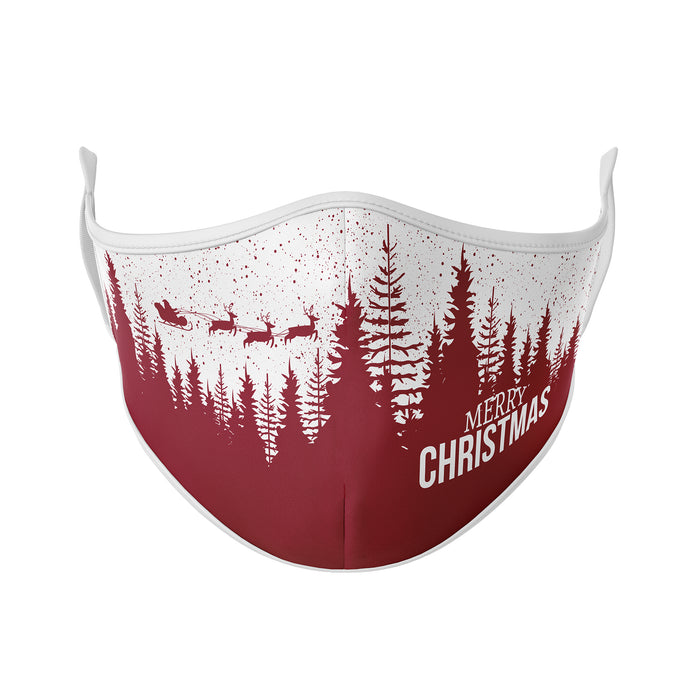 Flying Santa Reusable Face Masks - Protect Styles