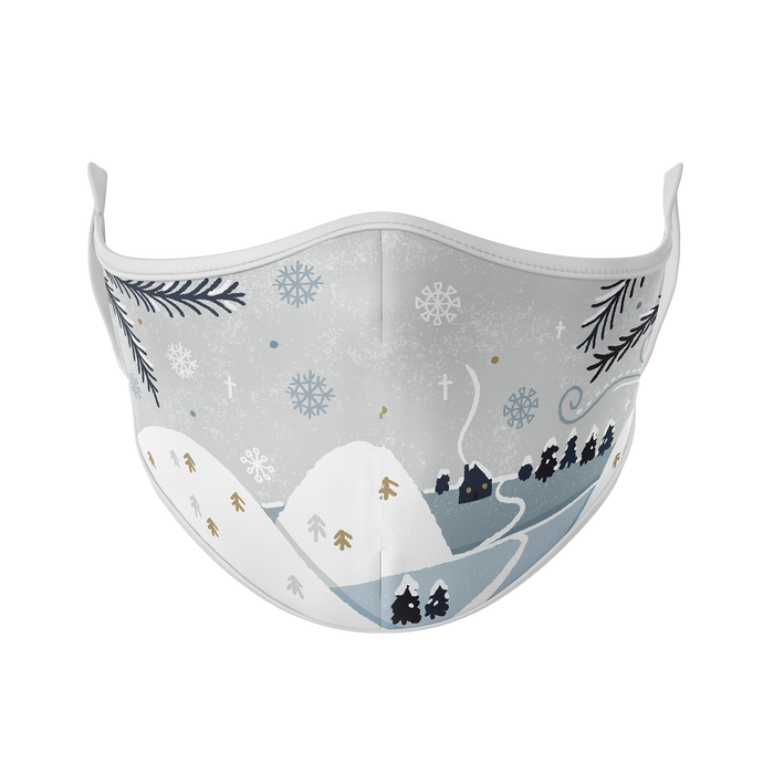 Frosty Scene Reusable Face Mask - Protect Styles
