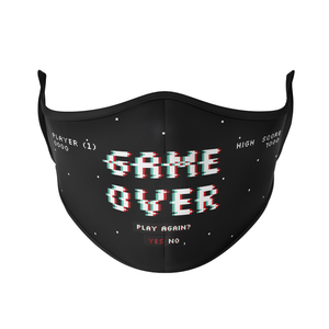 Game Over Reusable Face Mask - Protect Styles