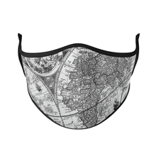 Load image into Gallery viewer, Geography Reusable Face Masks - Protect Styles