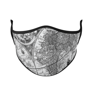 Geography Reusable Face Masks - Protect Styles