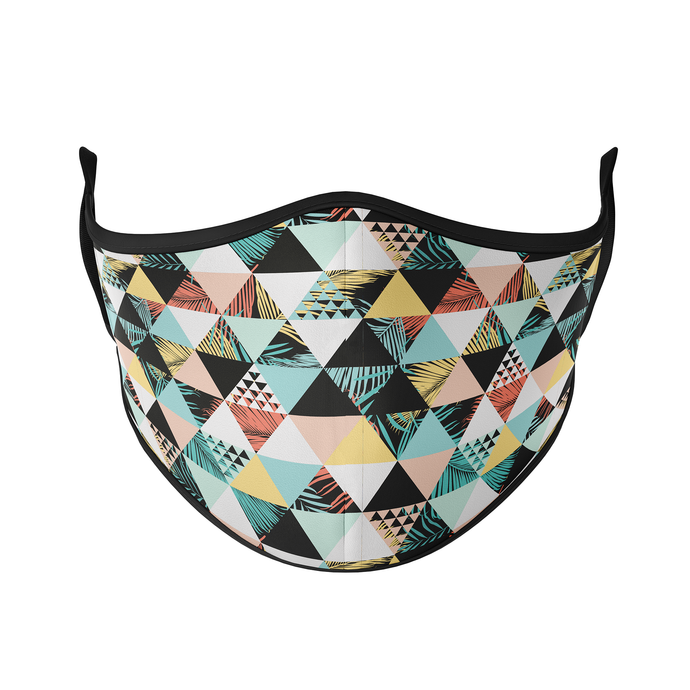 Geometric Palms Reusable Face Masks - Protect Styles