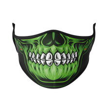 Load image into Gallery viewer, Glowing Skull Reusable Face Mask - Protect Styles