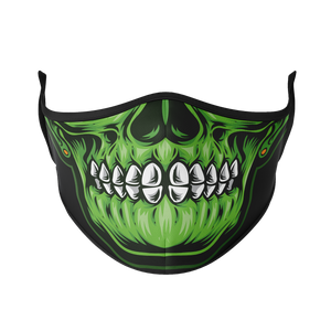 Glowing Skull Reusable Face Mask - Protect Styles