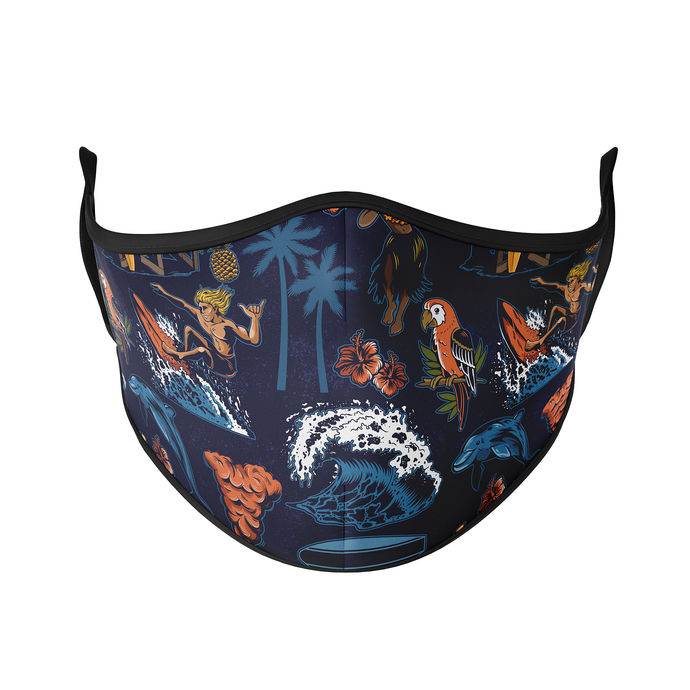 Gone Surfin' Reusable Face Masks - Protect Styles