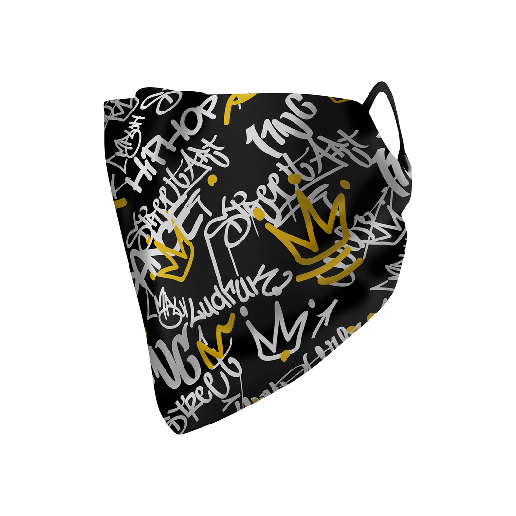 Graffiti Hankie Mask - Protect Styles