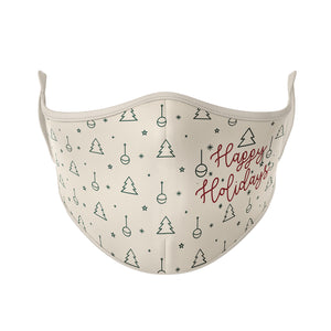 Happy Holidays Reusable Face Masks - Protect Styles