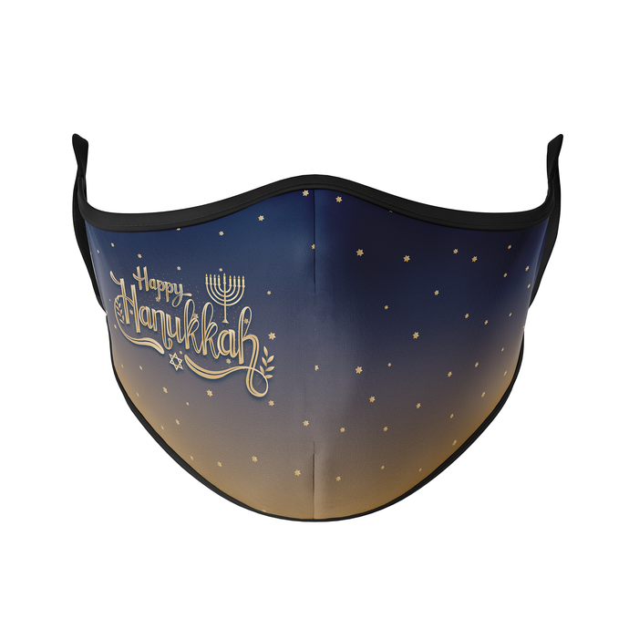 Hanukkah Reusable Face Masks - Protect Styles