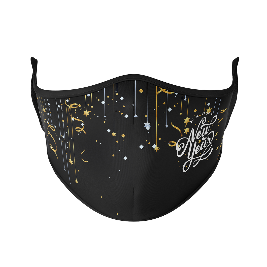 Happy New Year Reusable Face Masks - Protect Styles