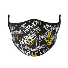 Load image into Gallery viewer, Graffiti Reusable Face Masks - Protect Styles