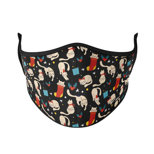 Holiday Cats Reusable Face Masks - Protect Styles