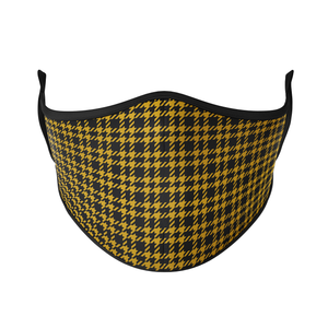 Houndstooth Reusable Face Masks - Protect Styles