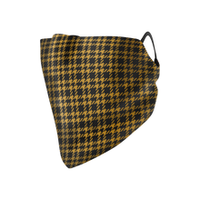 Load image into Gallery viewer, Houndstooth Hankie Mask - Protect Styles