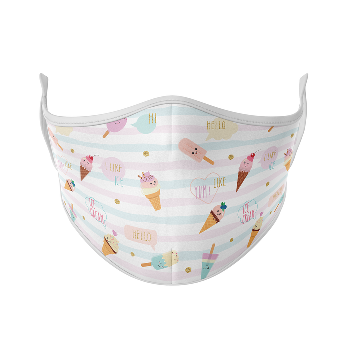Ice Cream Reusable Face Mask - Protect Styles