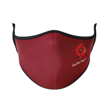 Load image into Gallery viewer, Lest We Forget Reusable Face Masks - Protect Styles