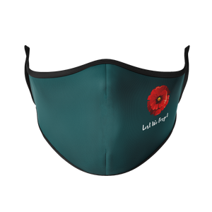 Lest We Forget Reusable Face Masks - Protect Styles