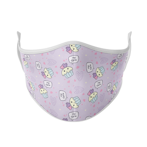 Love Cupcakes Reusable Face Mask - Protect Styles