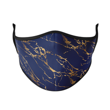 Load image into Gallery viewer, Marble Gold Reusable Face Masks - Protect Styles