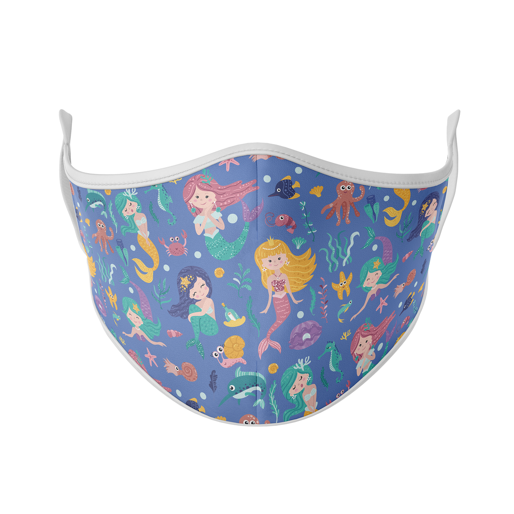 Mermaid Print Reusable Face Mask - Protect Styles