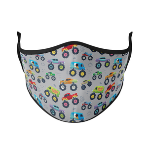 Monster Trucks Reusable Face Masks - Protect Styles