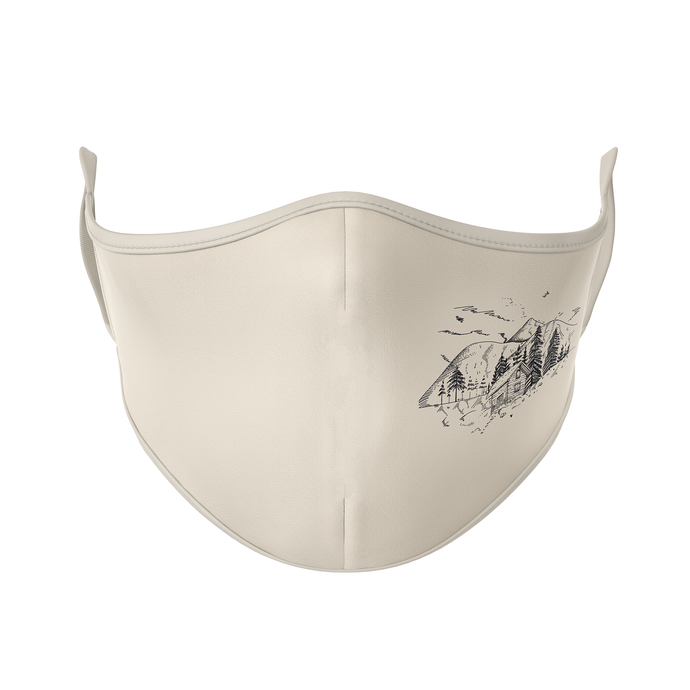 Mountain Cabin Reusable Face Mask - Protect Styles