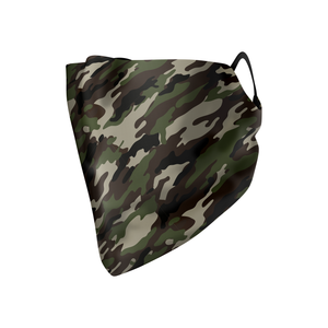 Muted Camo Hankie Mask - Protect Styles