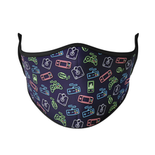 Load image into Gallery viewer, Neon Gamer Reusable Face Mask - Protect Styles