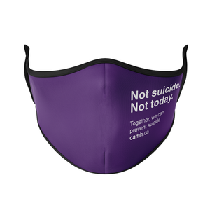 CAMH Not Suicide Reusable Face Masks - Protect Styles