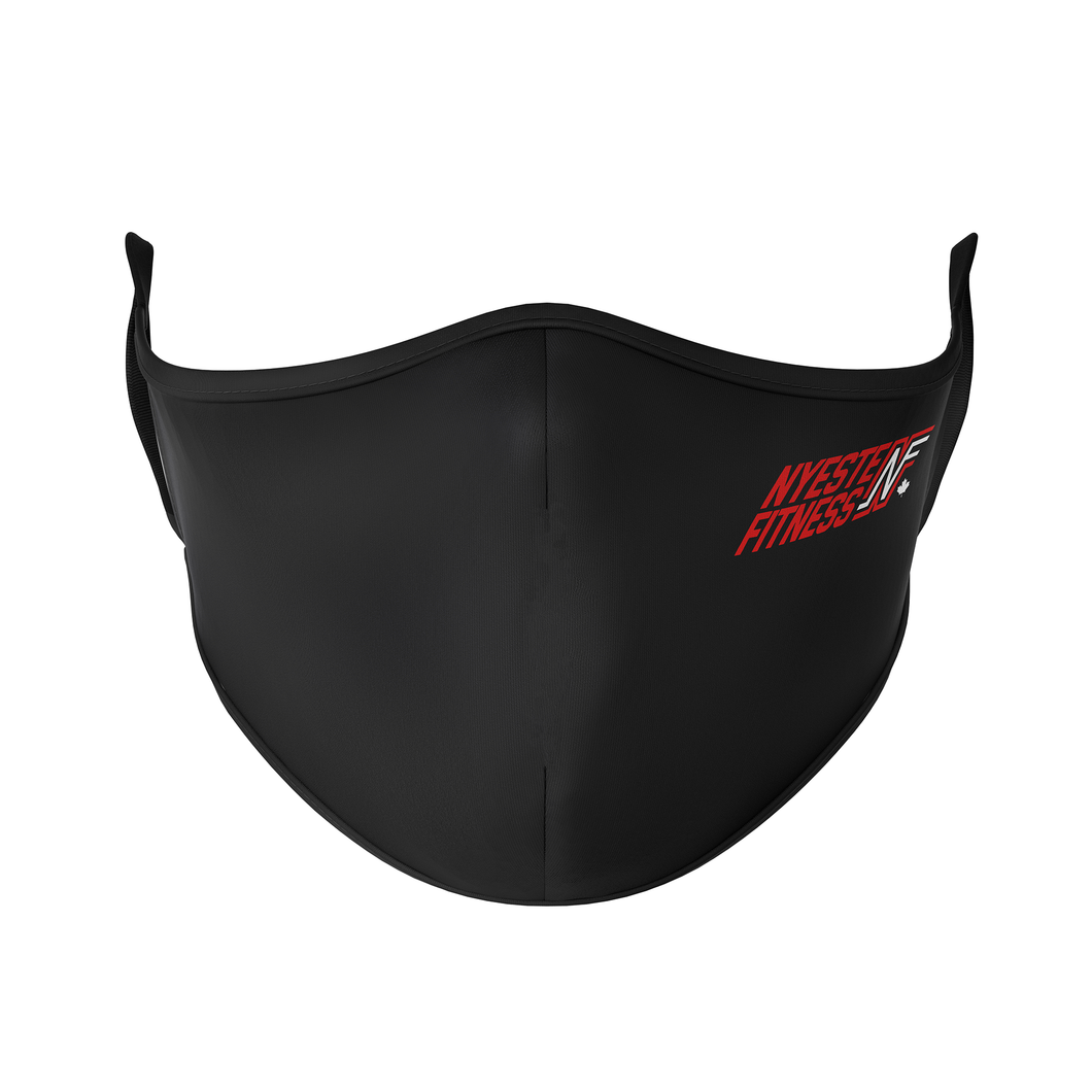 Nyeste Fitness personal Training Reusable Face Masks - Protect Styles