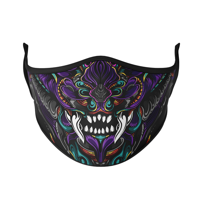 Ornate Dragon Reusable Face Mask - Protect Styles