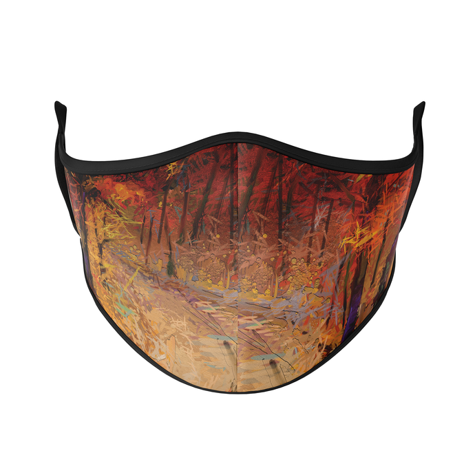 Painted Autumn Reusable Face Masks - Protect Styles