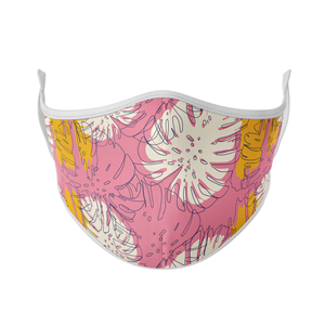 Pink Palm Reusable Face Masks - Protect Styles