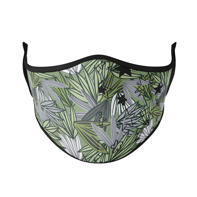 Palm Leaves Abstract Reusable Face Masks - Protect Styles