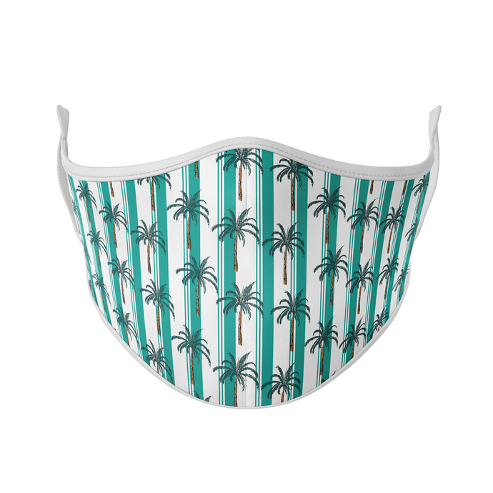 Palms and Stripes Reusable Face Masks - Protect Styles