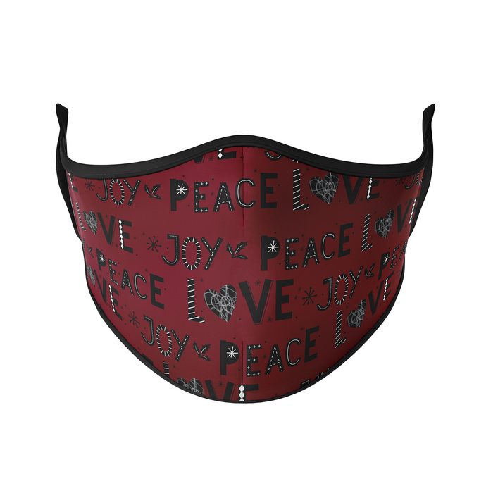 Peace Love Joy Reusable Face Masks - Protect Styles