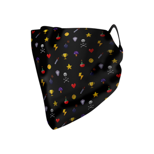 Pixel Print Hankie Mask - Protect Styles