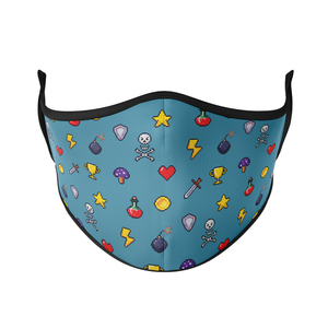 Pixel Print Reusable Face Mask - Protect Styles