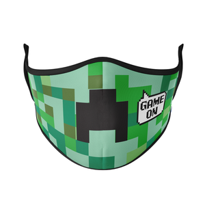 Pixels Reusable Face Masks - Protect Styles