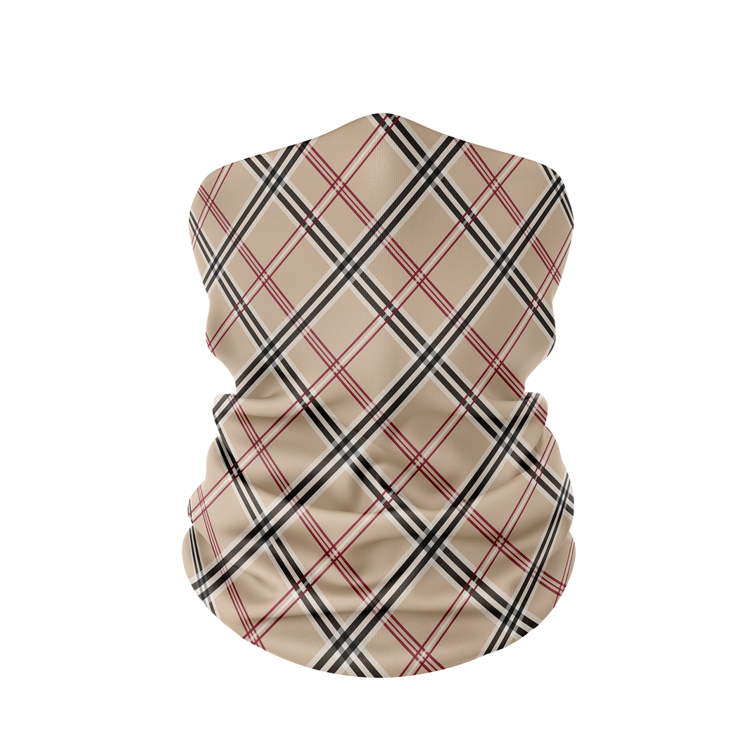 Plaid Neck Gaiter - Protect Styles