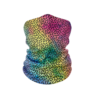 Rainbow Dots Neck Gaiter - Protect Styles