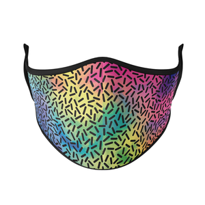 Rainbow Dots Reusable Face Masks - Protect Styles