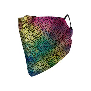 Rainbow Dots Hankie Mask - Protect Styles